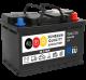 Sunbeam SB3 AGM Batterie 12Volt 70Ah (Start-Stopp, Versorgerbatterie, Starterbatterie)