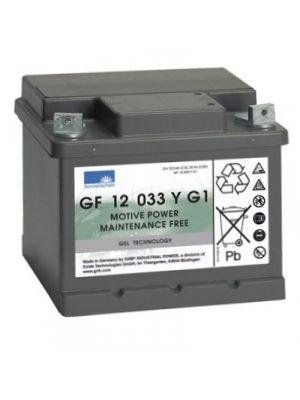 Exide Sonnenschein GF 12 033 Y G1 dryfit Blei Gel Antriebsbatterie 12V 32,5Ah (5h) VRLA GF12033YG1 Bodenleiste