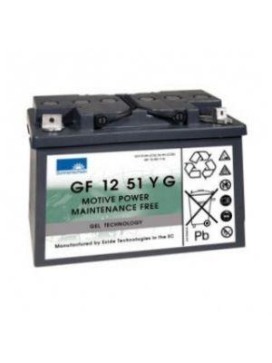 Exide Sonnenschein GF 12 051 Y G1 dryfit Blei Gel Antriebsbatterie 12V 51Ah (5h) VRLA GF12051YG1