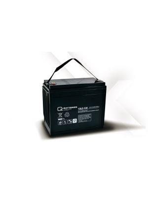 Q-Batteries AGM Batterie 12Volt 143Ah Zyklentyp 12LC-134 Deep Cycle VRLA