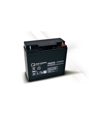 Q-Batteries AGM Batterie 12Volt 23Ah Zyklentyp 12LCP-23 Deep Cycle VRLA