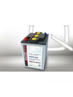 Quality-Batteries 6SEM-230 6V 230Ah Semitraktionsbatterie Versorgungsbatterie