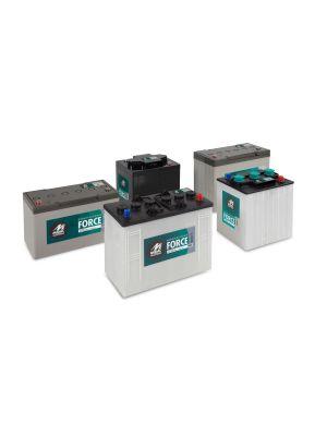 Versorgungsbatterie FORCE 12V 130Ah (c20)  Positive Röhrchenplatte