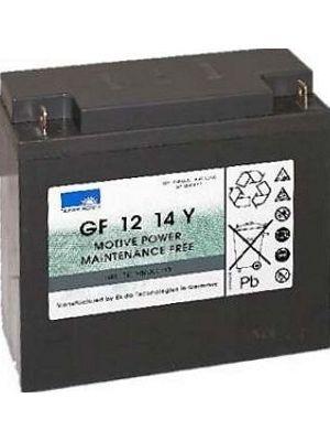 Exide Sonnenschein GF 12 014 Y F dryfit Blei Gel Antriebsbatterie 12V 14Ah (5h) VRLA GF12014YF