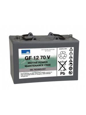 Exide Sonnenschein GF 12 070 V dryfit Blei Gel Antriebsbatterie 12V 70Ah (5h) VRLA GF12070V