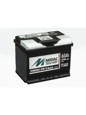Midac Itineris IT2 EFB 60Ah 570A Start-Stop (ETN 560.501.057)