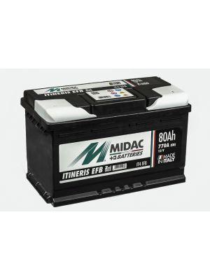 Midac Itineris IT4 EFB 80Ah 770A Start-Stop (ETN 580.501.077)