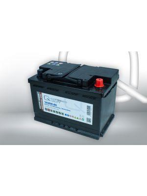 Quality-Batteries 12SEM-80 12V 80Ah Semitraktionsbatterie Versorgungsbatterie