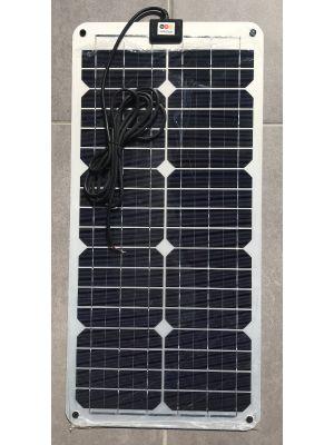 Sunbeam 30W Solarmodul monokristallin