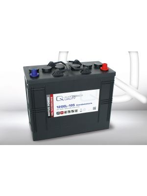 Q-Batteries 12GEL-105 Antriebsbatterie 12 Volt 105 Ah (5H) / Blei-Gel-Akku