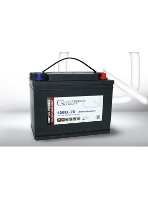 Q-Batteries 12GEL-70 Antriebsbatterie 12 Volt 70 Ah (5H) / Blei-Gel-Akku