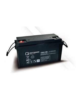 Q-Batteries AGM Batterie 12Volt 128Ah Zyklentyp 12LC-130