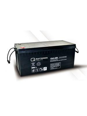Q-Batteries AGM Batterie 12Volt 214Ah Zyklentyp 12LC-200 Deep Cycle VRLA