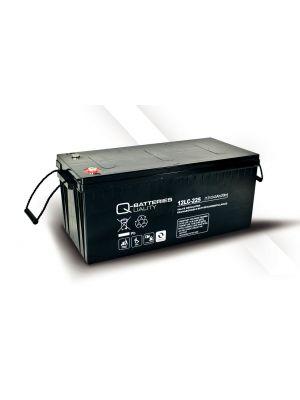 Q-Batteries AGM Batterie 12Volt 243Ah Zyklentyp 12LC-225 Deep Cycle VRLA
