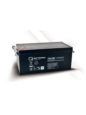 Q-Batteries AGM Batterie 12Volt 278Ah Zyklentyp 12LC-260 Deep Cycle VRLA