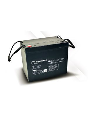 Q-Batteries AGM Batterie 12Volt 77Ah Zyklentyp 12LC-75 Deep Cycle VRLA