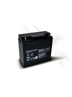Q-Batteries AGM Batterie 12Volt 19Ah Zyklentyp 12LCP-19 Deep Cycle VRLA