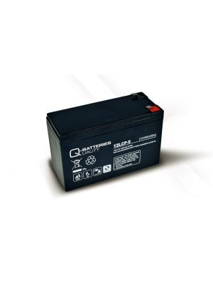 Q-Batteries AGM Batterie 12Volt 9Ah Zyklentyp 12LCP-9 Deep Cycle VRLA