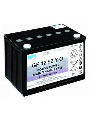 Exide Sonnenschein GF 12 052 Y 0 dryfit Blei Gel Antriebsbatterie 12V 52Ah (5h) VRLA GF12052Y0