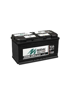 Itineris IT3 AGM Batterie 12Volt 70Ah 760A (ETN 570.901.076)