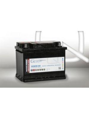 Quality-Batteries 12SEM-60 12V 60Ah Semitraktionsbatterie Versorgungsbatterie