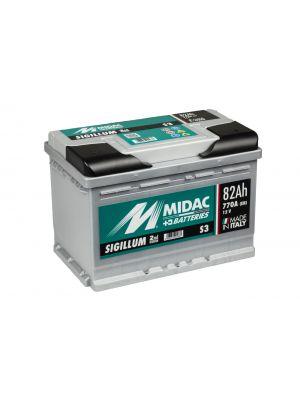 Midac Sigillum S3B 12V 74Ah 720A (ETN 574.018.072)