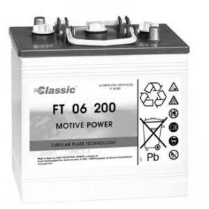 Exide Classic FT 06 200 Antriebsbatterie 6 Volt 200 Ah (5h) PzS-Platten
