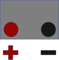 Batterieschaltung: 1 - Pluspol Links